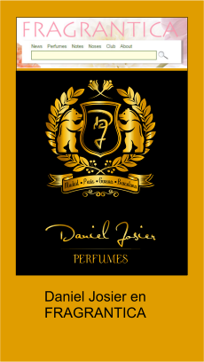 Daniel Josier perfumes and colognes